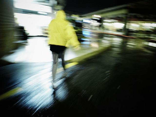 Rainy rush
