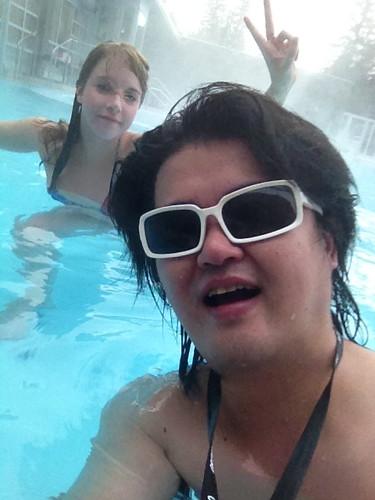 グラサン温泉 in Canada