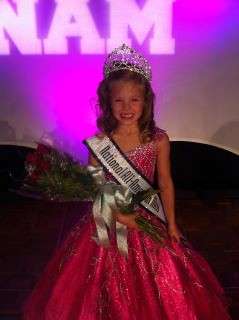 National All-American Princess Josephine McDowell of Texas