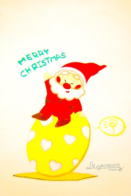 生蛋。聖誕公公