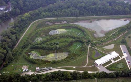 Исследователи из Университета штата Огайо в 1994 году создали две заболоченных территории