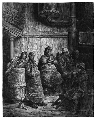 020-Los obreros de la cerveza-London A Pilgrimage 1890- Blanchard Jerrold y Gustave Doré- © Tufts Digital Library