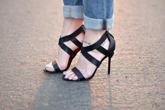 charles jourdan strappy sandals  heels