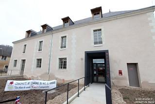 Inauguration de la médiathèque de Montoire