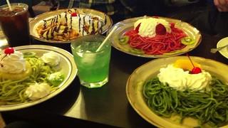 マウンテンのスパゲティ4品