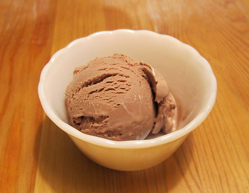 milk chocolate frozen yogurt