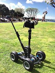 Telephoto lens setup