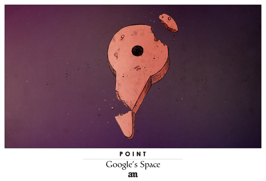 "Point ""Google's Space"""