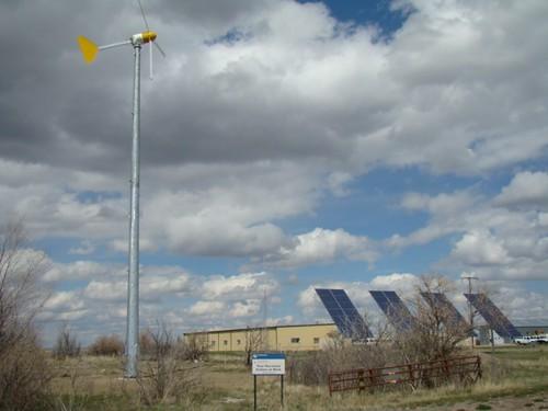 Renewable Energy at Benton Lake National Wildlife Refuge