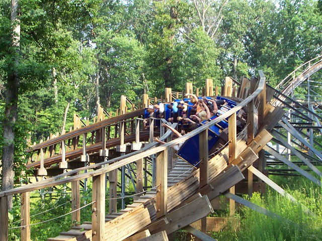 Holiday World - The Voyage 90° Curve