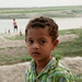 Young Boy Along Banks of Ganges (Padma) River - Rajshahi, Bangladesh
