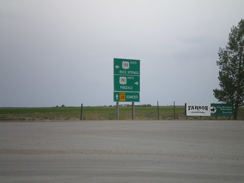WY-28 West at US-191