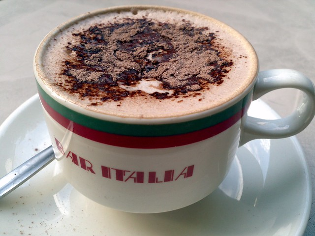 Hot Chocolate at Bar Italia Leichhardt