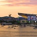 Heinz Field at Sunset by Z!@
