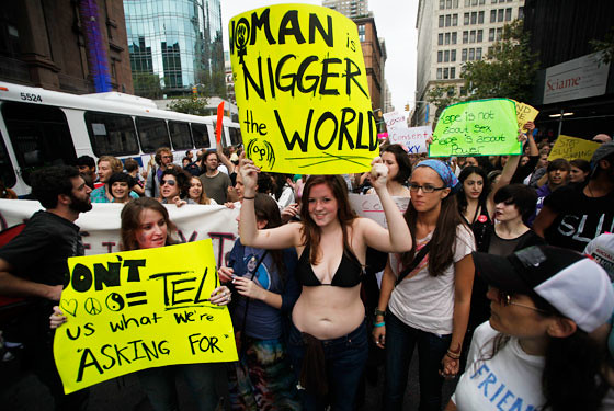 slutwalk fail