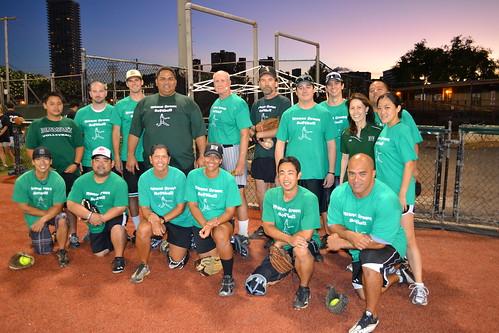 <p>The UH Manoa team for the UH AUW Softball Tourment at Les Murakami Stadium on Sept. 30, 2011</p>