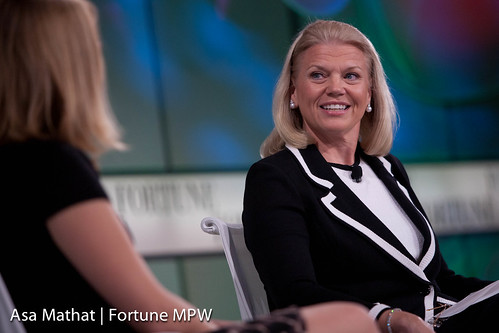 Ginni Rometty de IBM