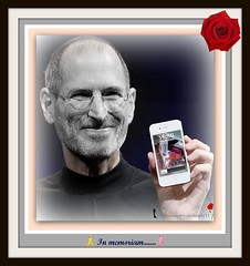 APPLE CEO Steve Jobs rest in peace (RIP) 08/2011