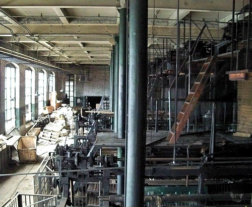 Scranton Lace Factory: The Loom Room is History Now  EXPLORE