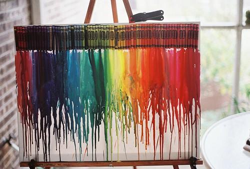crayon rain by ivivalamolly