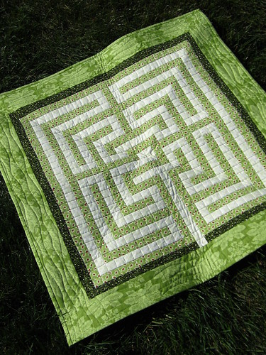 Labyrinth Wall Quilt
