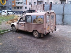 automobile, van, vehicle, citroã«n acadiane, off-road vehicle, light commercial vehicle, land vehicle,
