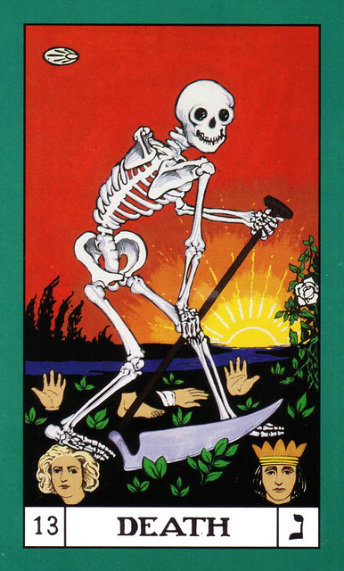 Bota Key 1 Magician: BOTA Major Arcana (coloured) 13 Death