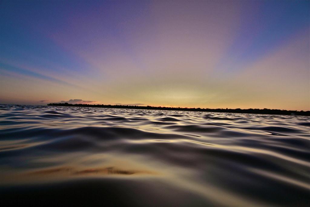 Sunset at 'Tween Waters Inn Island Resort