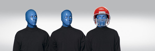 Blue Man Group Superbowl Ad