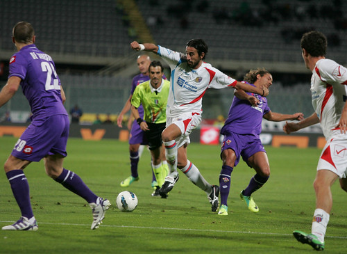Calcio, Fiorentina-Catania: precedenti in serie A$