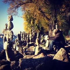 Esculturas efímeras.