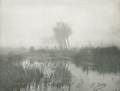 Herbstnebel, 1897, by Romain Ickx