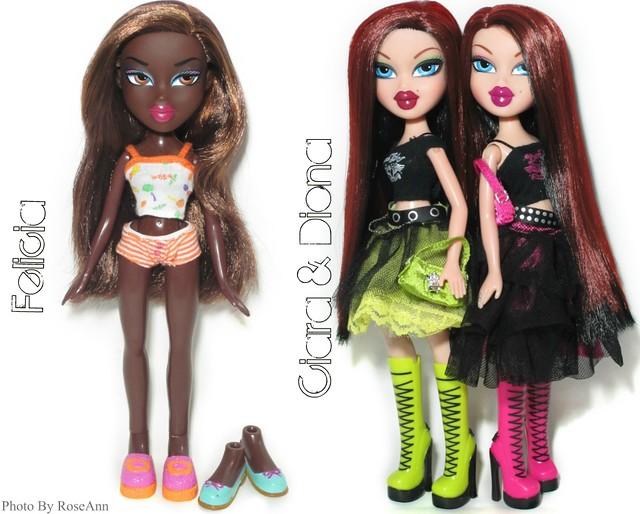 Bratz Felicia & Wicked Twins Ciara & Diona for SALE!
