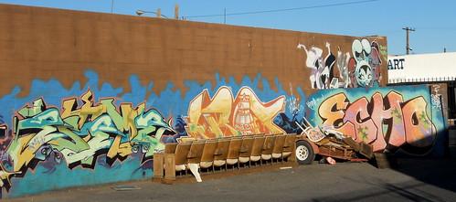 Las Vegas Downtown Graffiti