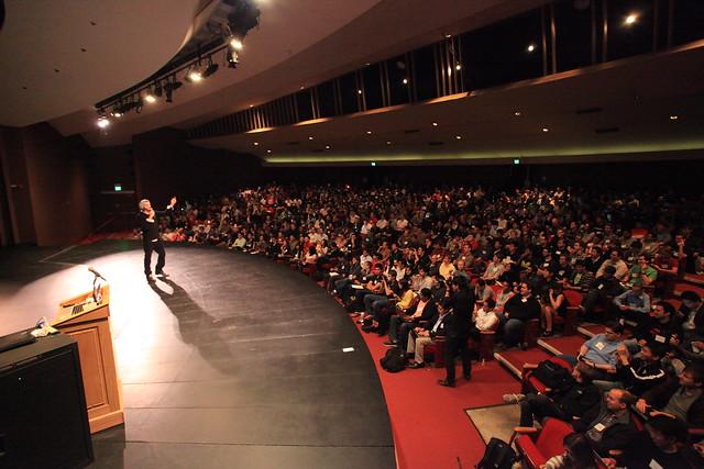 Ashton Kutcher talks at Startup School