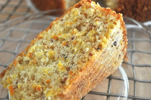 cake with olive oil, almonds & citrus 55
