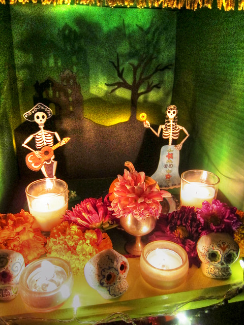 Day of the Dead Altar Close-up
