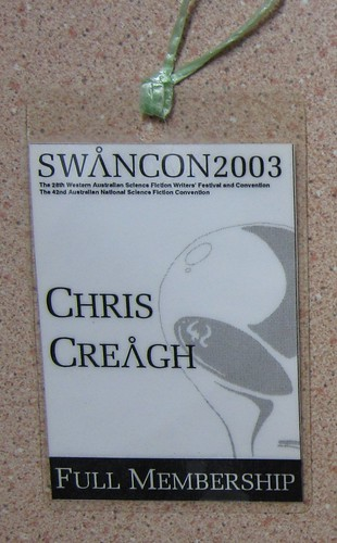 Swancon 2003 badge