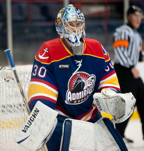 Norfolk Admirals Goalie
