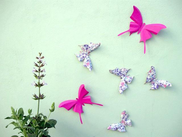 Mariposas autoadhesivas para decorar tus ambientes y eventos flickr photo sharing - Mariposas para decorar ...