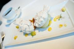 Hibiscus Vacherin, Ame Restaurant, San Francisco