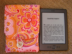 kindle next to cover