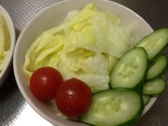 朝食サラダ(2011/11/20)