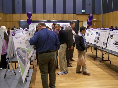 Open House, Purple Line light rail projec