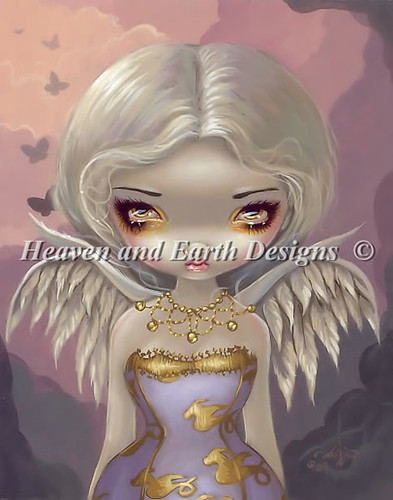 QS angel in lilac