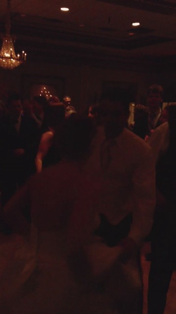 Happy Dancing Couple