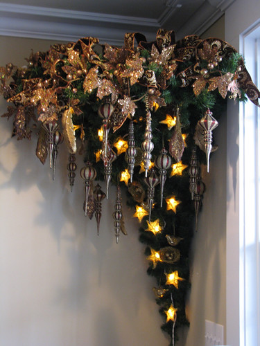 Whimsical Upside Down Christmas Trees