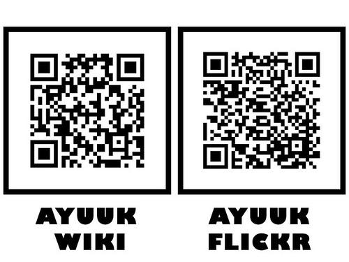 Ayuuk QR Codes
