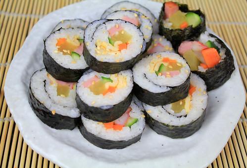 Kimbap2 [Korean sushi]
