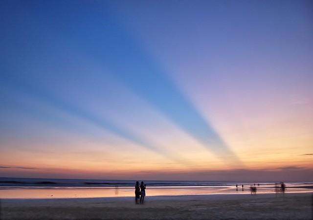 Crepuscular Rays - Bali